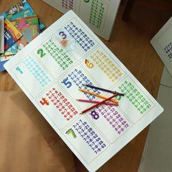 아이들 공부상 구구단 접이식테이블 소 600x400