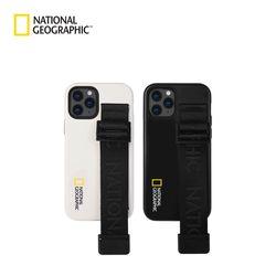 내셔널지오그래픽 아이폰12 Mini 스트랩 더블 시그니처 위빙