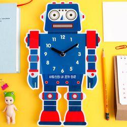 [주문제작]벽시계모양 로봇A프랭크