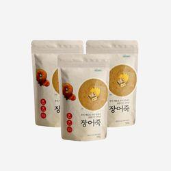 [특가] 강아지 국내산 보양식 수제간식 장어죽 120g 3개