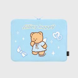 FILLING HAPPY MERRY-SKY BLUE(13인치 노트북파우치)