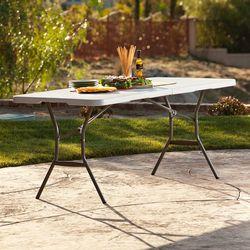 라이프타임 접이식 테이블 T25011 야외 실내 테이블