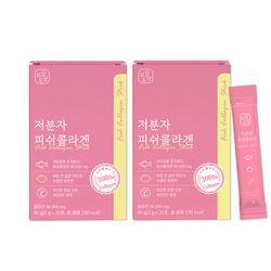 경성건강원 저분자 피쉬 콜라겐 펩타이드 스틱 30포 2개월분