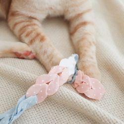 개달당 오가닉 샤베트 낚시대 고양이 끈 장난감 카샤카샤 리필