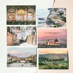 트래블 여행사진 엽서 이탈리아 6종