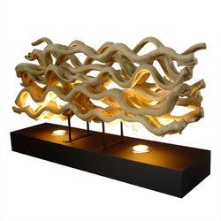 MOXLUX Waves table lamp 인테리어 조명 원목스탠드 협찬조명
