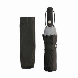 빛반사 방풍 완전자동 3단 우산(블랙)