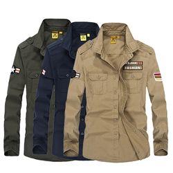 F-LAB 트랜디 남성 빈티지 긴팔 셔츠 2001