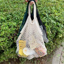 여름 네트 매쉬백 그물가방