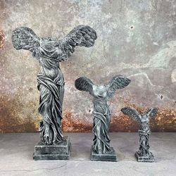 승리의 여신 니케 조각상 석고상 중형25cm 2종 빈티지 모음