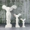 승리의 여신 니케 조각상 석고상 대형40cm 화이트 빈티지 모음