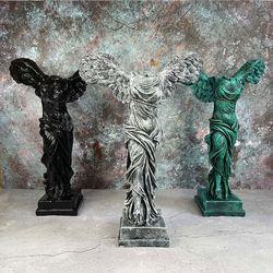 승리의 여신 니케 조각상 석고상 대형40cm 2종 빈티지 모음