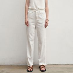 ROUTINE COTTON JEANS IVORY
