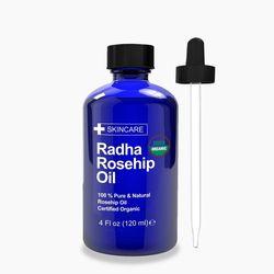 Radha Beauty 로즈힙 오일 유기농 Rosehip Oil 120ml