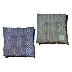 아이비스 12000 사계절모던줄무늬방석2(SP)-진밤 방석
