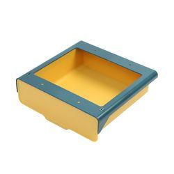 하이드 접착식 히든서랍(23.5x22.5cm) (옐로우)