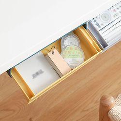 하이드 접착식 히든서랍(23.5x11.5cm) (옐로우)