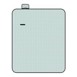모던체크 방수돗자리(200x150cm) (민트+화이트)