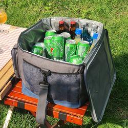 피크닉 캠핑 보냉가방 아이스박스 쿨러백 10L 1개