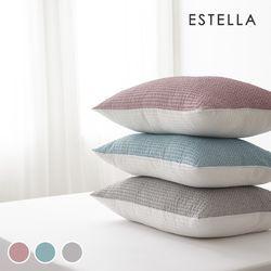 에스텔라 썸머도트 리플 여름용 베개커버 4x6 5x7 3colors