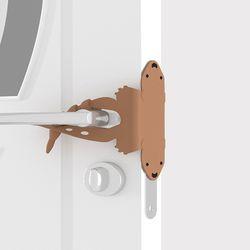 방문 도어락 닫힘 소리방지 충격 방지 실리콘 커버
