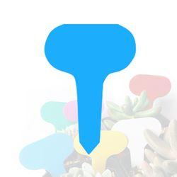 미미네가든 타원형 식물 이름표 (블루) 1개 -화분픽