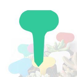 미미네가든 타원형 식물 이름표 (그린) 1개 -화분픽