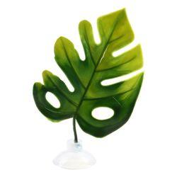 고운물 베타침대 (몬스테라잎) -인공수초 수족관 장식