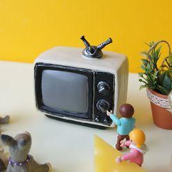 엔틱 화이트 TV