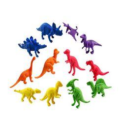 알록달록 미니 공룡 피규어-2세트