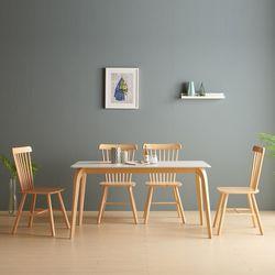 세들리 포세린 통세라믹 4인 식탁 세트(일반형)