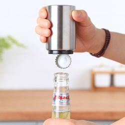 구디푸디 자동 병뚜껑 오프너 맥주 병따개