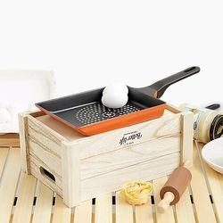 주방 코팅 계란말이팬 24cm 추가구성 2Set