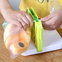 구디푸디 가정용 비닐 봉투 밀봉 실링기