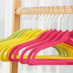 Velvet Non Slip 옷걸이 아동용30P 3color CH1577349