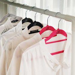 Velvet Non Slip 옷걸이 표준형 50P 3color CH1577337