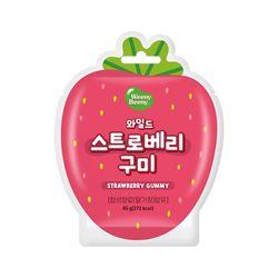 과일모양구미 패키지(딸기)