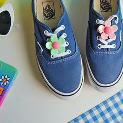 신발끈 버클 장식(데이지 꽃)