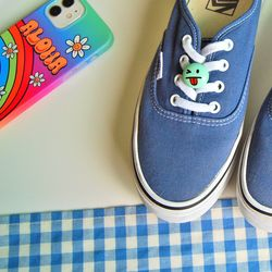 신발끈 버클 장식(스마일)