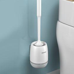 구디푸디 화장실 벽걸이 변기 청소솔 실리콘 변기솔