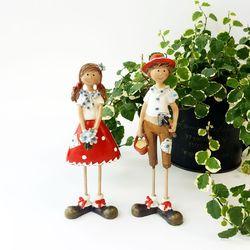 선 핀란드 꼬마 커플