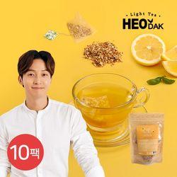 [무료배송] [허닭] 라이트티 콤부차 레몬 10팩(2gX20개입)