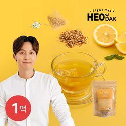 [허닭] 라이트티 콤부차 레몬 1팩(2gX20개입)