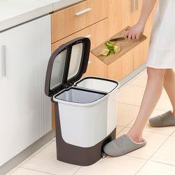 구디푸디 가정용 원터치 분리수거함 쓰레기통 휴지통