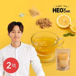 [허닭] 라이트티 콤부차 레몬 2팩(2gX20개입)