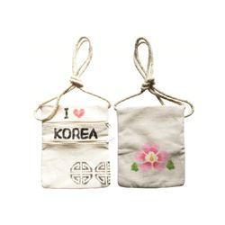 우리나라상징 스텐실 휴대가방(1인세트)