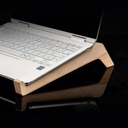 더심플 노트북 나무 받침대