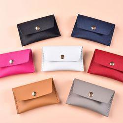 [가죽공예DIY키트] 천연 사피아노 카드지갑 만들기 1세트
