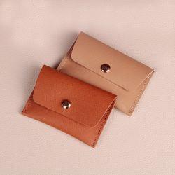 [가죽공예DIY키트] 천연 사피아노 카드지갑 만들기 30세트