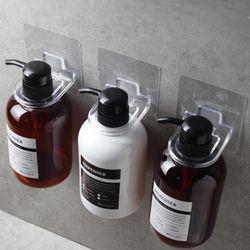 구디푸디 투명 샴푸걸이 홀더 접착식 욕실 디스펜서